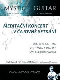 Meditační koncert v Čajovně Setkání 29.5. od 19:00