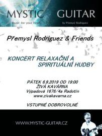6.9.2019 Mystic-Guitar & Friends – Koncert spirituální a relaxační hudby